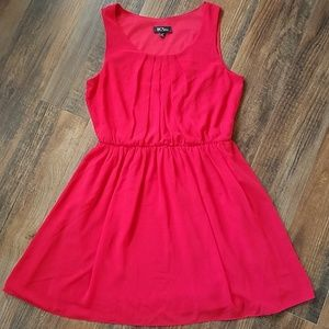 BCX dress red large